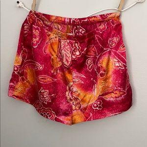 Pants - Silky shorts